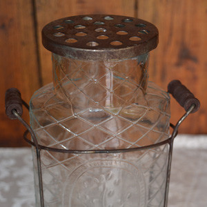 Vase-with-wire-frame